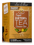 Super Dieter's Tea Cinnamon Spice Maximum Strength - 12 Count Box