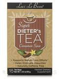 Super Dieter's Tea Cinnamon Spice 15 Count Box