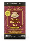 Super Dieter's Tea Cranberry Twist 15 Count Box