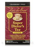 Super Dieter's Tea Cranberry Twist 30 Count Box