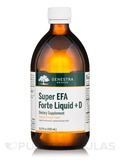 Super EFA Forte Liquid + D, Natural Orange Flavor - 16.9 fl. oz (500 ml)