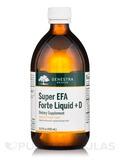 Super EFA Forte Liquid + D, Natural Orange Flavor - 16.9 fl. oz (500 ml)