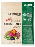 Superfoods - Raw Organic Detox & Cleanse Powder, Peach Mango - 4.2 oz (120 Grams)