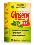 Super Ginseng PowerMax® 4X™ - 100 VegCaps