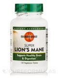 Super Lion's Mane with Maitake D-fraction - 120 Vegetable Tablets