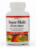 Super Multi Iron Free - 90 Tablets