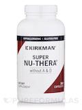 Super Nu-Thera w/o Vitamins A & D -Hypoallergenic - 360 Capsules