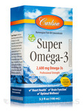 Super Omega-3 2600 mg, Natural Lemon Flavor - 3.3 fl. oz (100 ml)