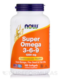 Super Omega 3-6-9 1200 mg 180 Softgels