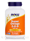 Super Omega 3-6-9 1200 mg - 90 Softgels