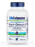 Super Omega-3 EPA/DHA with Sesame Lignans & Olive Fruit Extract 240 Softgels