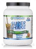Super Shake Peanut Butter Vegan Powder - 30 Servings (2.224 lbs / 1.009 Kg)