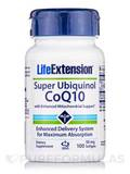 Super Ubiquinol CoQ10 with Enhanced Mitochondrial Support 50 mg 100 Softgels