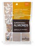 Goldenberry Ginger Superfood+ Almonds - 4 oz (113 Grams)