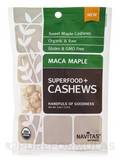 Superfoods+ Maca Maple Cashews - 4 oz (113 Grams)