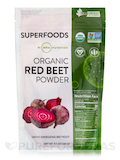 Super Foods - Raw Organic Red Beet Powder - 8.5 oz (240 Grams)
