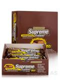 Supreme Protein Bar Chocolate Peanut Butter Wafer Crunch - BOX OF 12 BARS