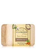 Sweet Almond Soap Bar - 8.8 oz (250 Grams)