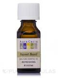 Sweet Basil Essential Oil (ocimum basilcum) - 0.5 fl. oz (15 ml)