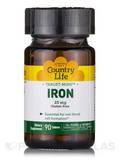 Target-Mins Iron 25 mg - 90 Tablets