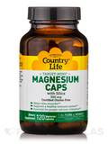 Target-Mins® Magnesium with Silica 300 mg - 120 Vegetarian Capsules