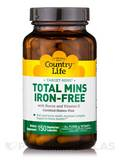 Target-Mins Total Mins Iron-Free 150 Vegetarian Capsules