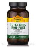 Target-Mins Total Mins-Iron Free - 120 Tablets
