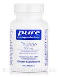 Taurine 500 mg 60 Capsules