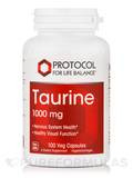 Taurine Extra Strength 1000 mg - 100 Capsules
