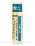 Tea Tree & Lemon Herbal Lip Balm with Cocoa Butter - 0.25 oz (7 Grams)