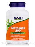 TestoJack 200 (Extra Strength) 120 Vegetarian Capsules