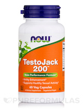 TestoJack 200 (Extra Strength) 60 Vegetarian Capsules