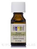 Texas Cedarwood Essential Oil (juniperus mexicana scheide) - 0.5 fl. oz (15 ml)