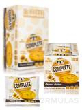 The Complete Cookie Peanut Butter - Box of 12 Count (4 oz / 113 Grams Each)