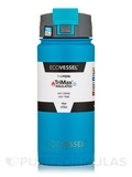 The Perk - TriMax Triple Insulated Bottle with Push-Buttom Flip Lid - Teal Lagoon - 16 oz (473 ml)