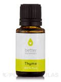 Thyme Essential Oil (Thymus vulgaris) - 15 ml