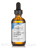 Thyroid Thymus Parathyroid Drops 2 oz (60 ml)