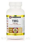 TMG 500 mg with Folinic Acid & Methyl B-12 -Hypoallergenic- 120 Capsules