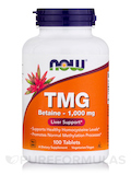 TMG Betaine - 1000 mg - 100 Tablets
