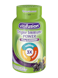 Triple Immune Power Gummy, Natural Berry Citrus Flavor - 60 Gummies