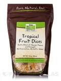 NOW® Real Food - Tropical Fruit Dices - 16 oz (454 Grams)