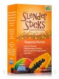 NOW Real Food® - Tropical Punch with Fiber Sugar Free Drink Sticks - Box of 12 Packets