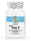 Ultra True E 60 Softgels