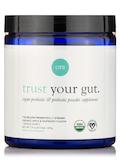 Trust Your Gut Organic Probiotic & Prebiotic Powder, Apple Raspberry Favor - 7.9 oz (225 Grams)