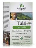 Tulsi Green Tea with Caffeine - 18 Bags (1.21 oz / 34.2 Grams)