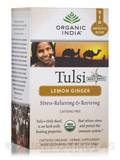 Tulsi Lemon Ginger Tea - 18 Bags (1.27 oz / 36 Grams)