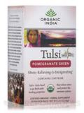 Tulsi Pomegranate Green Tea (with Caffeine) - 18 Bags (1.27 oz / 36 Grams)