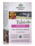 Tulsi Sweet Rose Tea - 18 Bags (1.01 oz / 28.8 Grams)