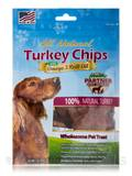 Turkey Chips Bag with Omega-3 Krill Oil - Treats for Pets - 3 oz (85 Grams)