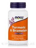 Turmeric & Bromelain - 90 Vegetarian Capsules